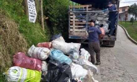 Marinilla aumentará recolección de residuos veredales