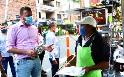 Alcaldía de Sabaneta entrega kits de bioseguridad