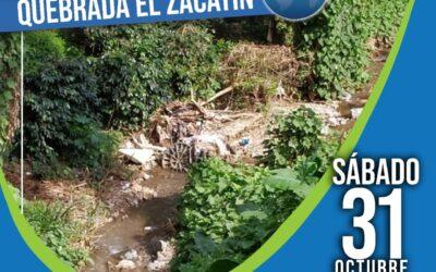 Jornada de limpieza de los recursos naturales en Amagá