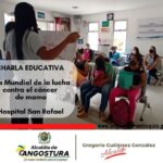 Charlas educativas en hospital de Angostura