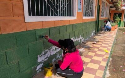 Abejorral está transformando los colegios