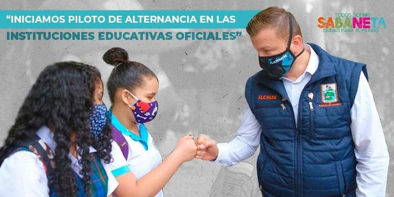 Sabaneta inicia plan de alternancia educativa