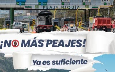 Buenos vientos para la iniciativa ¡No más peajes!